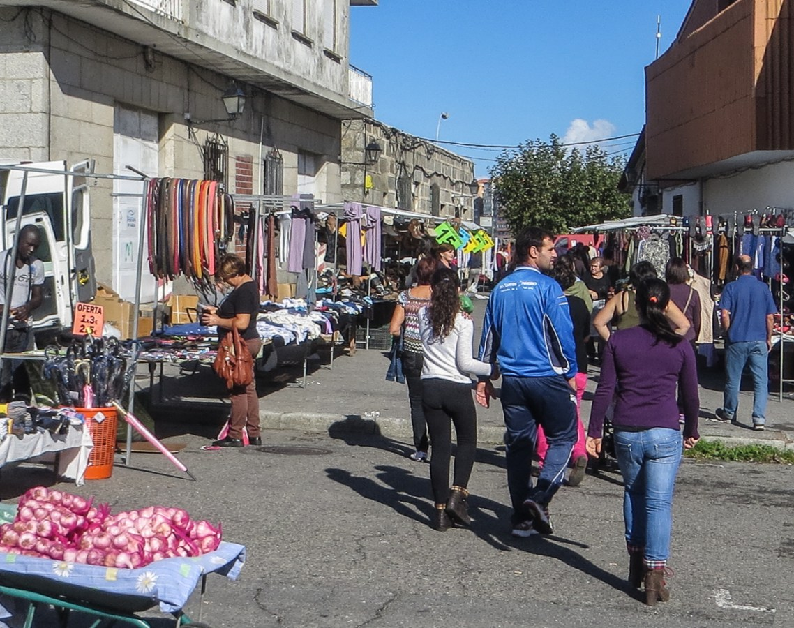 Market in San Tome