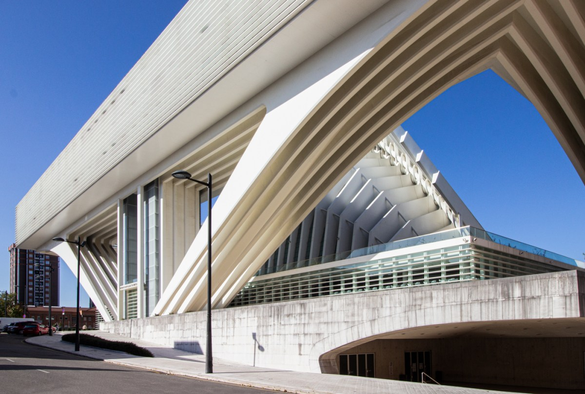 Calatrava building in Oviedo