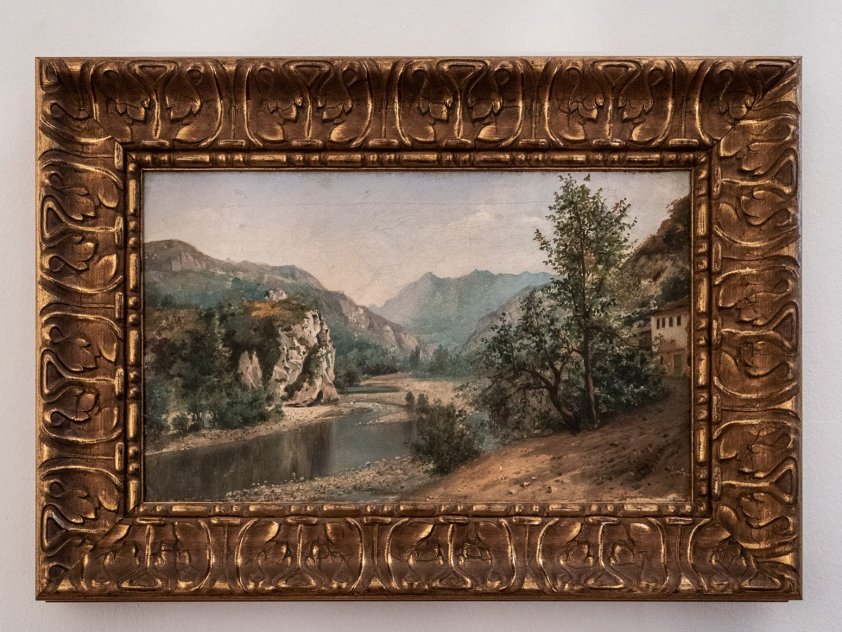The River Nalon by Ramon Ezquerra, 1869
