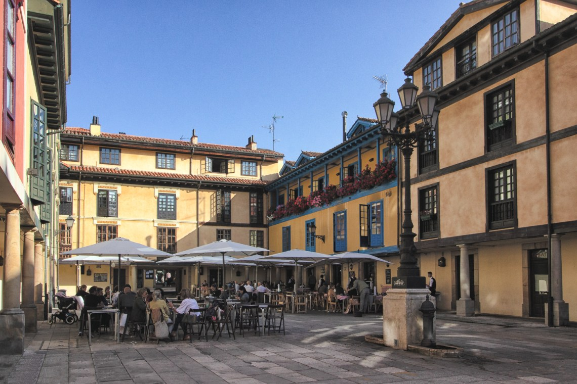 The Fontan Square in Oviedo