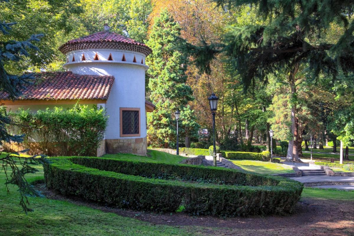 A little pavilion in the park