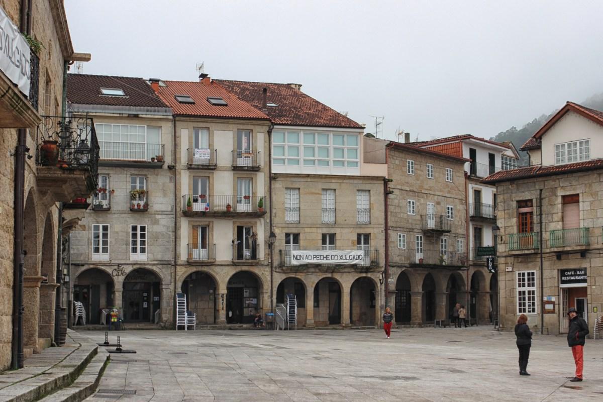 Plaza Mayor in Ribadavia