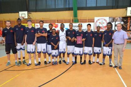London United Basketball U16 in Poland July 2015
