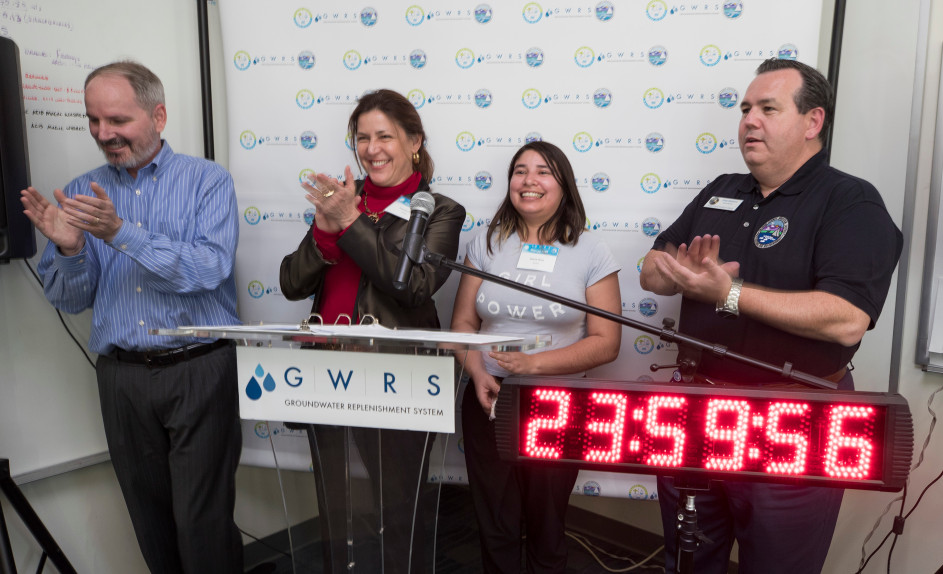 London world record Recycled Drinking Water In 24 Hours
