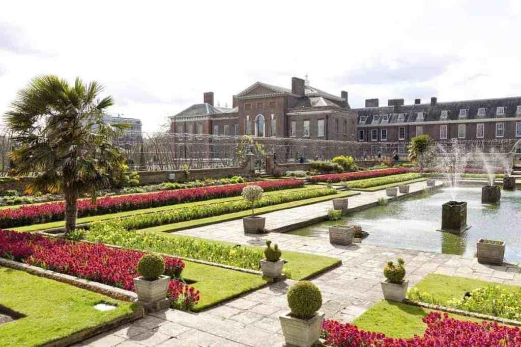 kensington gardens londra