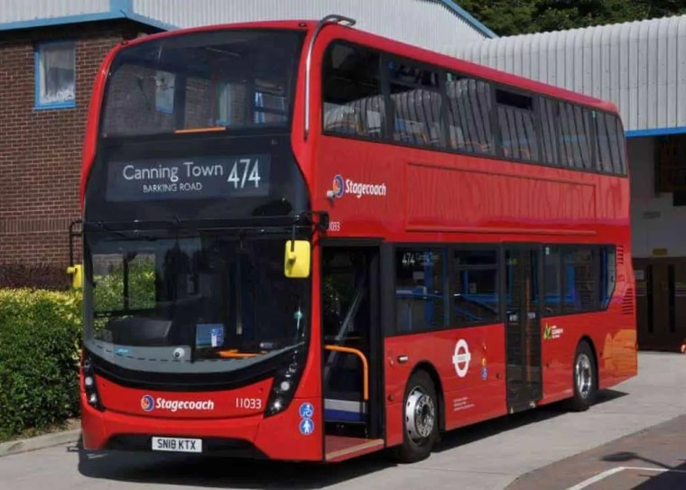 Autobus London City Airport – Centro di Londra