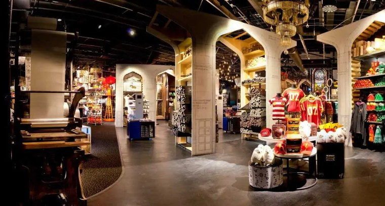 Harry potter studios gift shopt