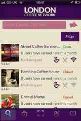 app londra coffee network