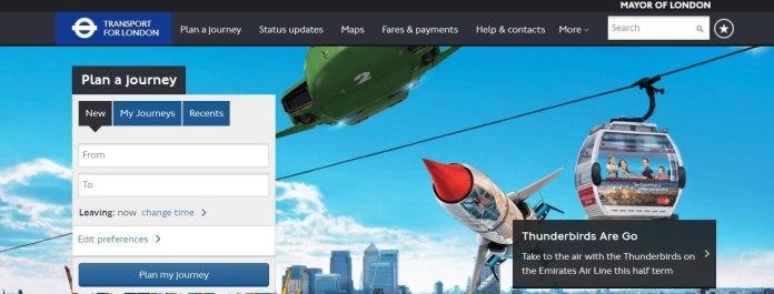 Londra Ulaşım Sayfası