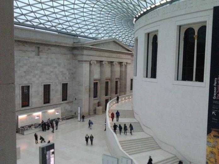 british museum tepeden bakis