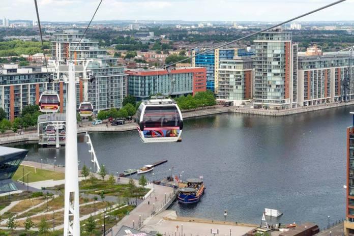 emirates cable car manzara