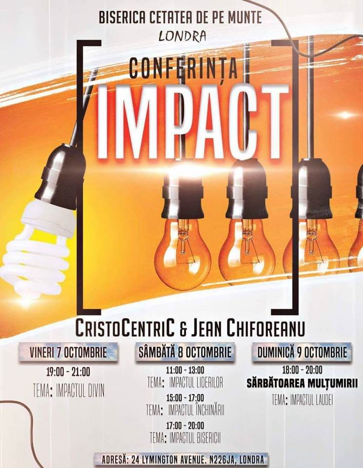 Conferinta Impact