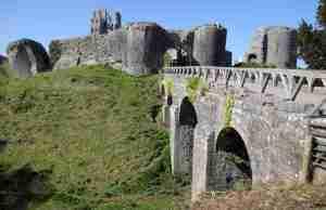 visita a corfe castle
