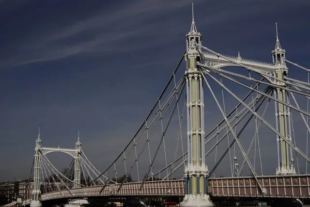 Albert Bridge sul Tamigi