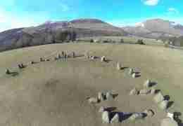 Castlerigg Stone Circle al Lake District in Cumbria