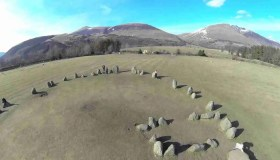 Castlerigg Stone Circle al Lake District in Cumbria