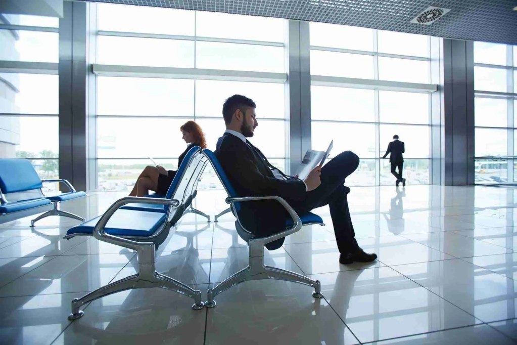 Agents at airport