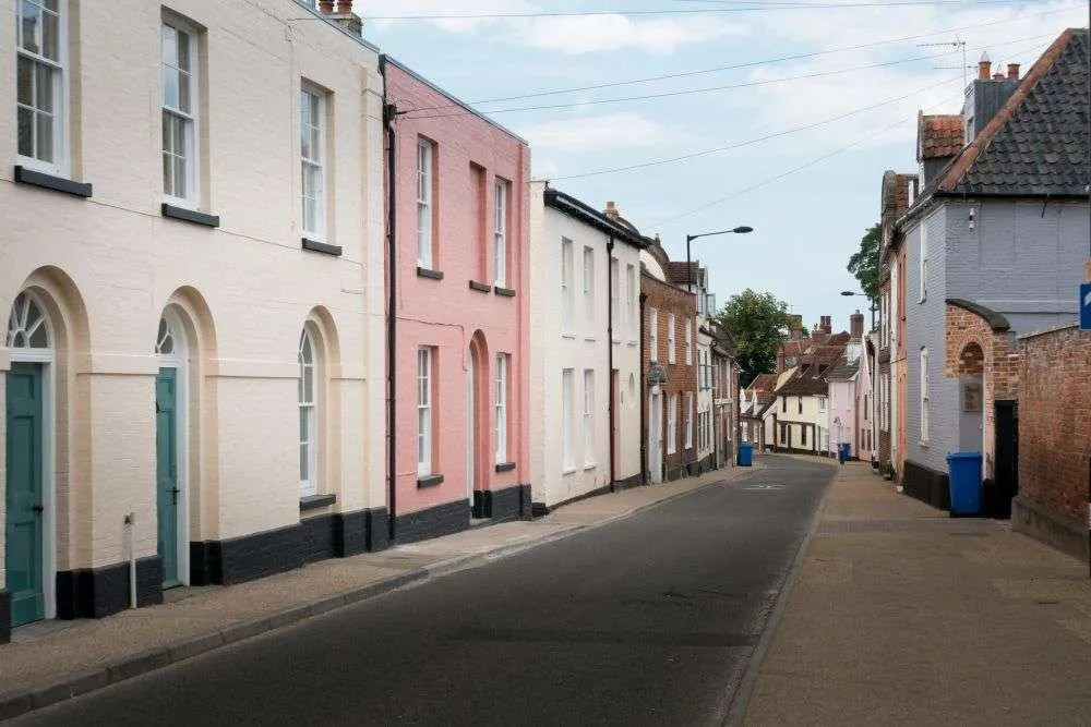 Beccles nel SUffolk