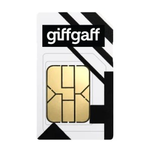 giffgaff SIM Only on goodybag golden with Unlimited mins & texts; 9GB of 5G data. £10 Topup.