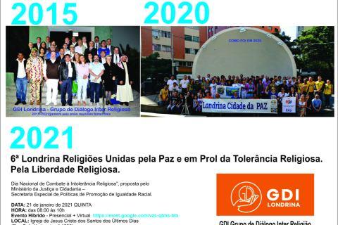 6ª Londrina Religiões Unidas pela Paz