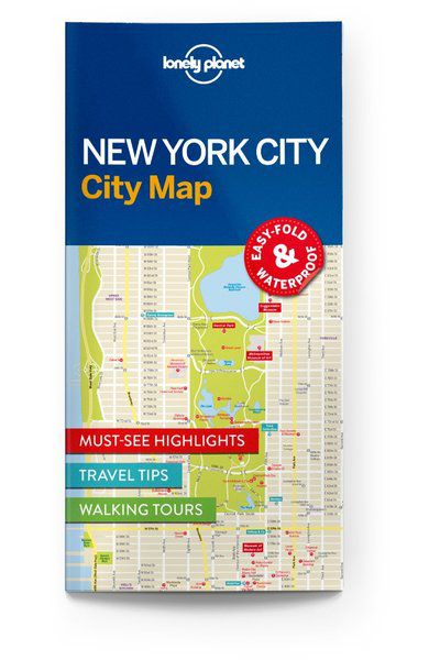 New York City Map, Edition - 1 by Lonely Planet