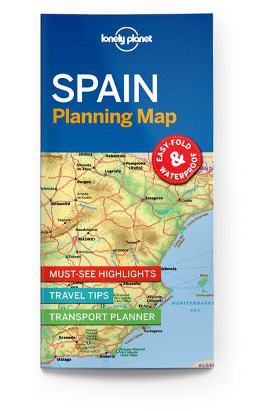 Spain Planning Map, Edition - 1 by Lonely Planet