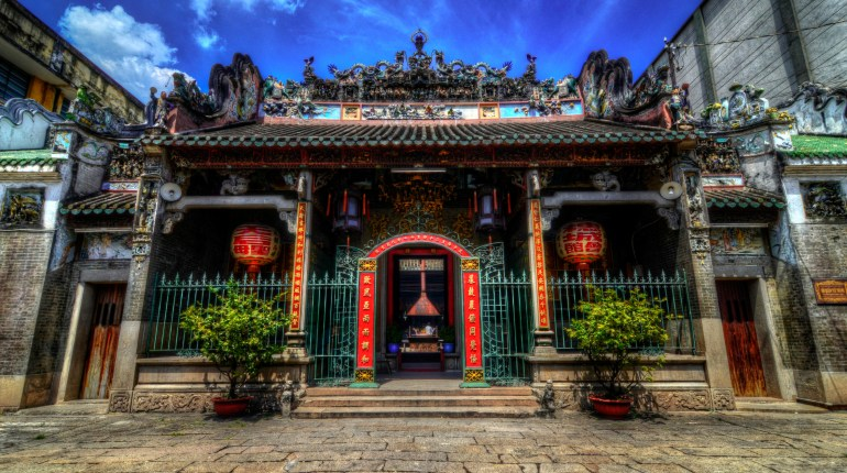 Ho Chi Minh city tour: Thien Hau temple