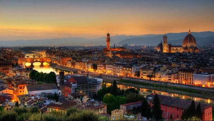 cidades mais românticas da Europa florença