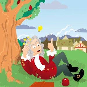 Isaac Newton Apple
