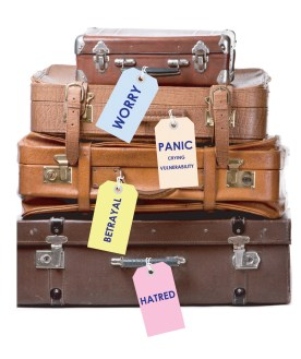 Your emotional baggage.