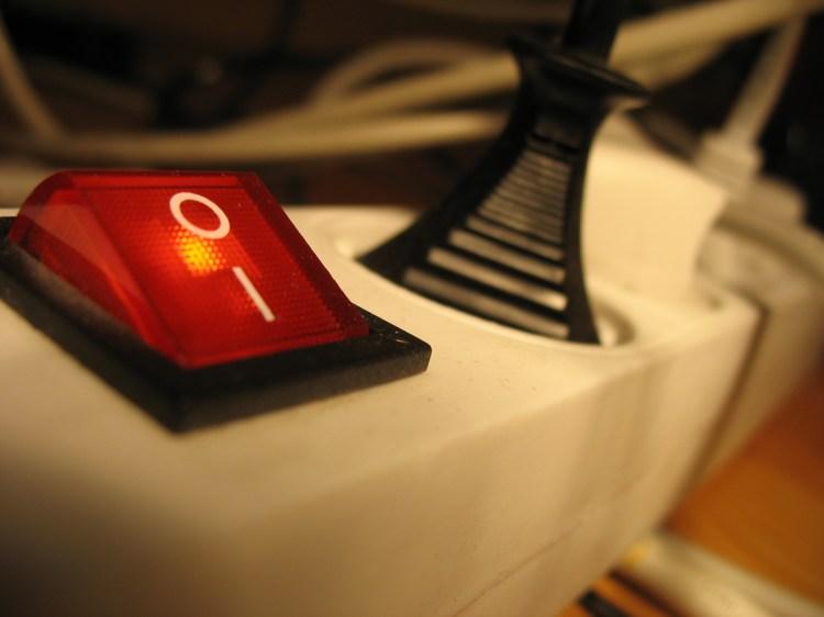 Unplug your appliances