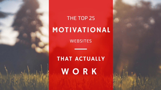 top 25 motivational websites