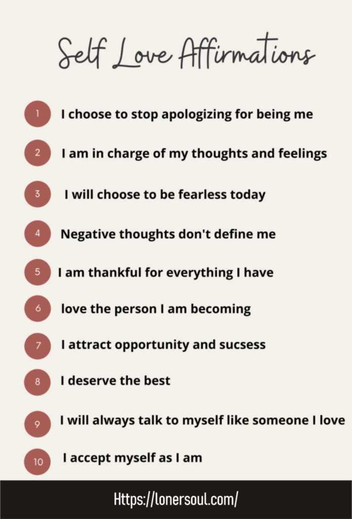 Ideas for Self Care - self care self love - self love affirmations - self care affirmations