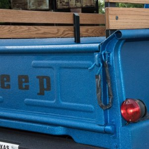 1964 Jeep J300 Tailgate and Tail Light