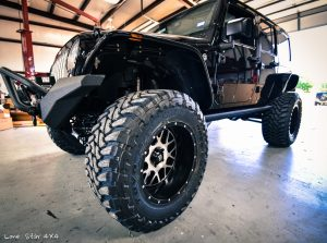 Custom Jeep Wrangler Hemi Conversion Front Drivers Side