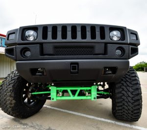 Custom Hummer H2 Front View