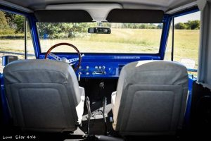 1977 Ford Bronco Interior Front Seats and Dashboard