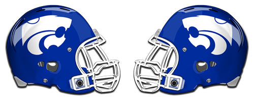 Football East Helmet Ridge