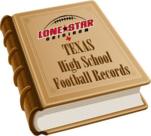Lone Star Gridiron - Texas High School Football Records
