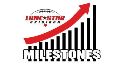 Texas high school football milestones