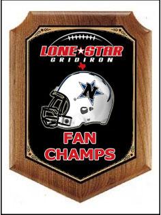 Texas high school football fan championship playoffs award