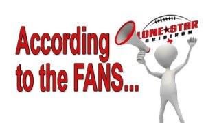 Fan feedback texas high school football