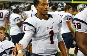 Texas high school football class 5A Offensive Player of the Year - LSG