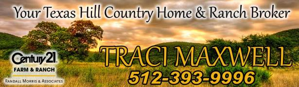 Traci Maxwell, Texas Hill Country Real Estate