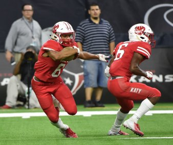 Katy Tigers vs Galena Park North Shore Mustangs 2018 playoffs
