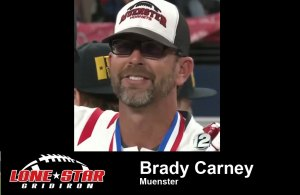 brady carney, Muenster, Texas high school football,