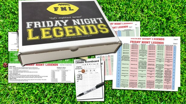 Friday Night Legends - high school football board game
