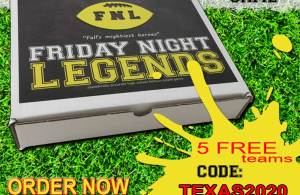Friday Night Legends State Discount