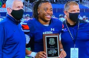 Denton Ryan Ty Marsh State Championship Defensive MVP