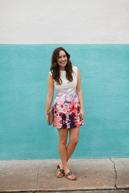 Spring Style with a Floral Mini
